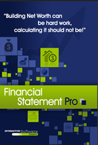 Personal Financial Statement Software Cover